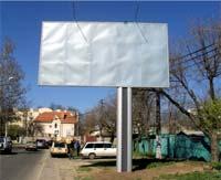 Рекламный щит форматом 3х6 м в Одессе